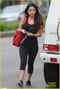 Brenda Song Hits The Gym 11-29-12