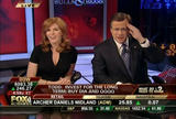 "LIZ CLAMAN cleavage - ""fbn - Bulls and Bears"" (April 9, 2009) *cleavage*"