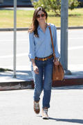 Emmy Rossum Out in Tight Jeans in Los Angeles 08/28/13 (HQ)