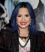 Demi Lovato- NYLON Magazine's December/January Issue Celebration in West Hollywood 12/05/13 (HQ)