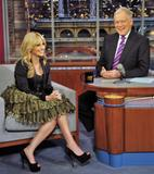 Sarah Michelle Gellar @ The Late Show with David Letterman | February 6 | 1 pic