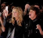 Heather Locklear WTB Spring 2011 Fashion Show in LA 2010-10-17