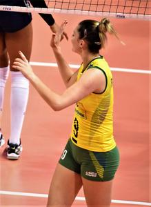 Rosamaria Montibeller (Hottest volleyball player of the world) x 9HQ
